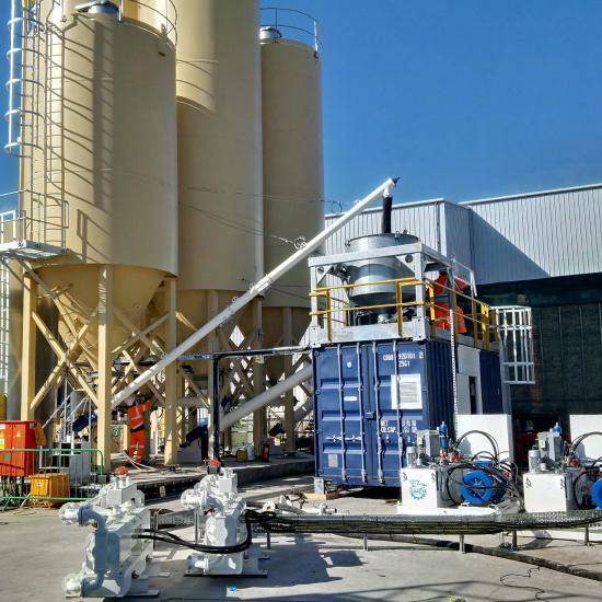 Cellular Concrete Plants
